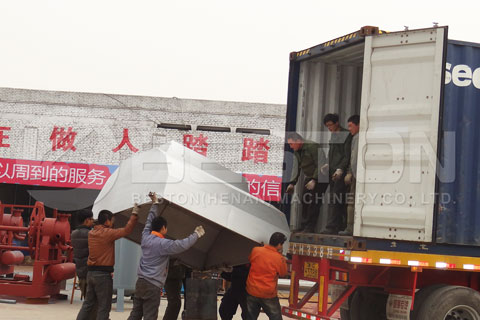 Shipment of Some Parts to Egypt